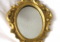 Small Gold Wall Mirrors