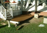 Small Ground Level Decks