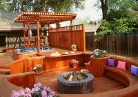 Small Hot Tub Deck Ideas