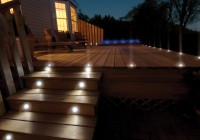 solar deck lights stairs