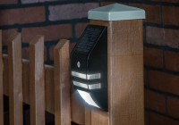 Solar Powered Deck Lights