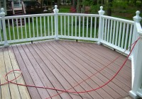 Solid Deck Stain Before After