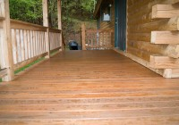 Staining A Deck After Rain