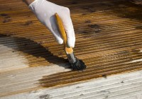 Staining A Deck Rain