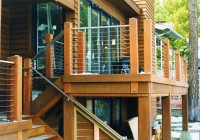 stainless steel cable deck railing systems
