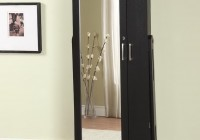 Standing Jewelry Mirror Armoire