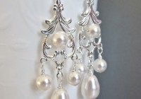 Swarovski Chandelier Earrings Wedding