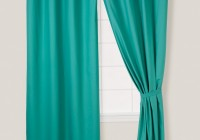 Teal Curtains With Grommets