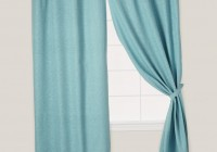 teal grommet curtain panels