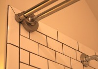 Tension Shower Curtain Rod For Tile