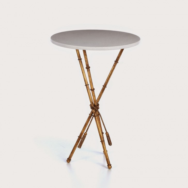 Permalink to Threshold Gold Accent Table