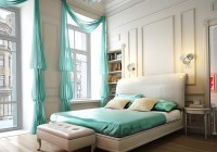 tiffany blue sheer curtains