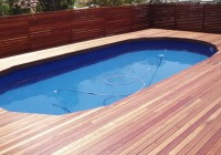 Timber Deck Around Pool