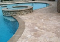 Travertine Pavers Pool Decking