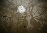 Tree Branch Shadow Chandelier