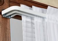 Triple Curtain Rod Brackets