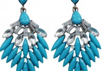 Turquoise Chandelier Earrings Uk