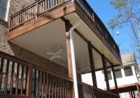 Under Deck Roofing Ideas
