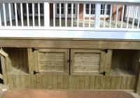 Under Deck Storage Plans