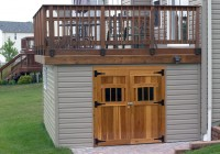 Under Deck Storage Sheds