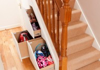 Under Stair Closet Storage System
