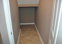 Under Stairs Closet Organizer
