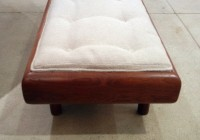 Upholstered Bench Coffee Table