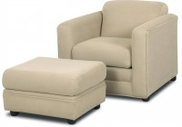 Upholstered Chair And Ottoman Sets