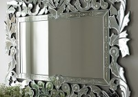 Venetian Glass Mirrors Bathroom