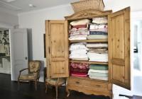 Vintage Cedar Wardrobe Closet