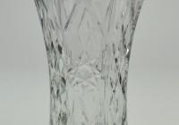 Vintage Clear Glass Vases