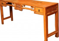 Vintage Console Table With Drawers