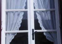 Vintage Lace Curtains Etsy