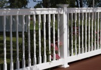 Vinyl Deck Railing Systems