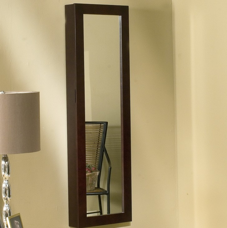 Permalink to Wall Mount Jewelry Armoire With Mirror