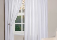 white blackout curtains target