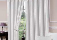 white blackout curtains uk