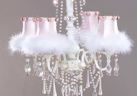 White Chandelier For Girls Room