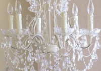 White Chandelier For Nursery
