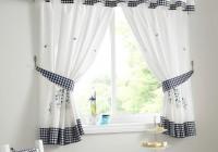 White Cotton Curtains 96