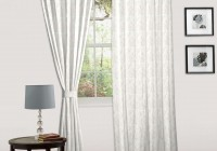 White Cotton Eyelet Curtains