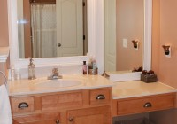 White Framed Bathroom Mirrors