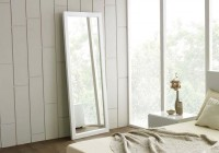 White Framed Full Length Mirror