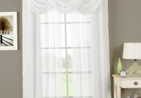 White Grommet Curtains 63