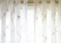White Linen Curtains Sale