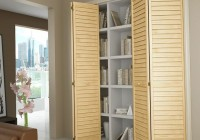 White Louvered Closet Doors