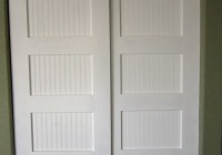 White Panel Closet Doors
