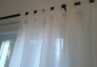 White Panel Curtains 84 Long