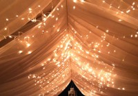 White Sheer Curtains With Lights