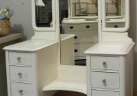 White Vanity Dresser With Mirror